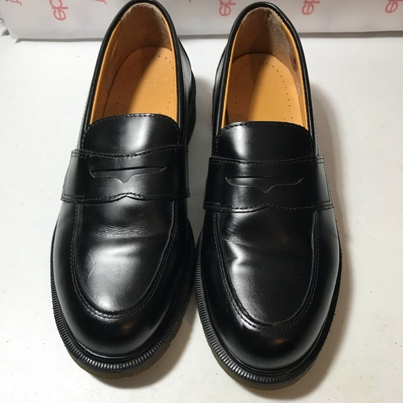 ee12b71c92e Dr. Martens Shoes - Dr Martens Women s Black penny loafers Addy size 9